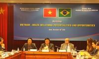 Vietnam y Brasil cooperan aún más en agricultura y turismo