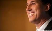 Santorum sweeps three GOP contests, gaining momentum