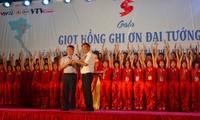 Blood drive commemorates General Vo Nguyen Giap