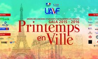 2016 Gala night of Vietnamese alumni in France