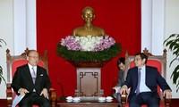 Japan-Vietnam Friendship Parliamentary Alliance Special advisor visits Vietnam
