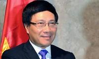 Deputy PM bids farewell to Cambodian, German ambassadors