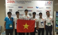 Vietnam wins 2 gold medals at IOI 2016