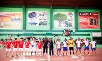 Vietnam-Mozambique friendly football tournament to mark Vietnam's National Day