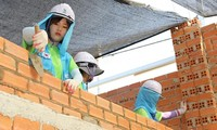 International volunteers build houses for the poor in Phu Tho