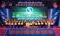 越南2016年第九次全国青年创新节表彰会暨颁奖仪式举行