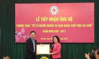 """""""Tet for poor people and AO victims"""" program warmly responded"""