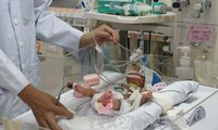 Successful congenital heart operation for premature baby