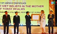UNESCO's recognition of Mother Goddess Worship celebrated