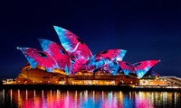 Vivid Sydney, an annual event of light and music in Australia