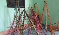 Thach Xa village makes bamboo dragonflies