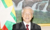 Party leader calls for cooperation between ruling parties of Vietnam and Myanmar