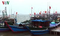 Vietnam's coastal provinces combat storm Doksuri