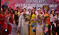 Winners of Mrs. Ao Dai Vietnam Europe 2018 announced