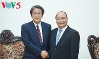 フック首相、在ベトナム日本の梅田大使と会見