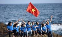 ビントアン省で、「学生と祖国の海や島」イベントが行なわれる
