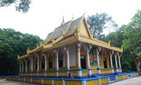 ソクチャン省のクメール族の寺院