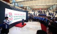 ホーチミン共産青年同盟・輝かしい伝統で展示会が開かれる