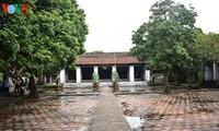フンイェン省のシックダン地区の文廟へ戻る