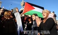 エルサレム首都宣言 大規模な抗議デモ続く