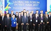 越韓のグローバルな人材フォーラムが行なわれる