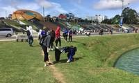 ラムドン省の青年5千人あまり、夏の青年ボランティア運動に参加
