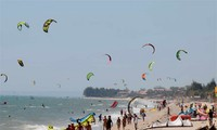 2012年亚洲风筝冲浪比赛在宁顺省尼角闭幕