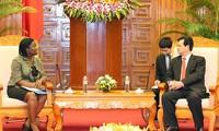 阮晋勇会见世行驻越首席代表克瓦克瓦
