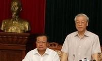 河内市委常委会按照越共十一届四中全会决议进行批评和自我批评