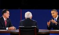 2012年美国大选:最后一场总统候选人电视辩论结束