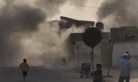 叙利亚炮弹击中土耳其一家医疗服务中心