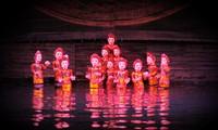 越泰举行传统木偶戏交流活动