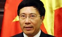 越南外长正式访问安哥拉