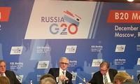 经济增长是G20峰会讨论的主要内容