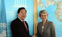 越南参与推选联合国教科文组织总干事