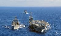朝鲜反对韩美日联合军演