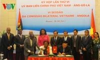越南—安哥拉举行政府间合作委员会第六次会议