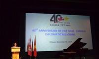 越南和加拿大面向全面、稳定、长期伙伴关系