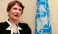 联合国开发计划署署长海伦·克拉克访问越南