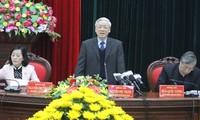 阮富仲要求宁平省重视发展旅游