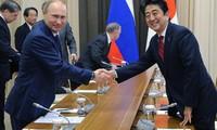2014年冬奥会期间,俄罗斯总统会见参赛国家领导人