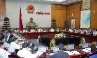 越南政府举行2月份工作例会