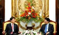 越韩关系在多个领域全面发展