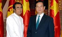 越南和斯里兰卡同意推进多个领域的合作