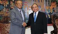 加强越南公安部与斯里兰卡执法机关关系