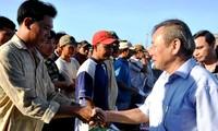 越南之声助力渔民坚持出海