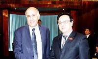 越共中央对外部部长黄平君会见巴勒斯坦民族解放运动(法塔赫)代表团