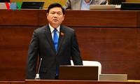 国会代表质询交通运输部长