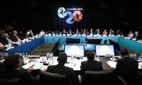 20国集团峰会联合公报中雄心勃勃的目标
