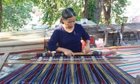 土锦纺织——巴那族的文化美
